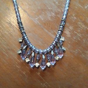 Vintage blue and diamond like embellishments